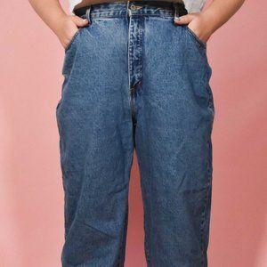 Vintage Medium Wash Plus Size Blue Jeans Size 22